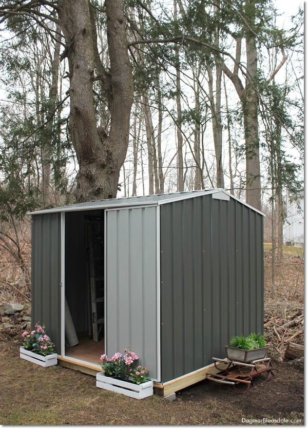 DIY shed, EnduraShed sold by BuildDirect