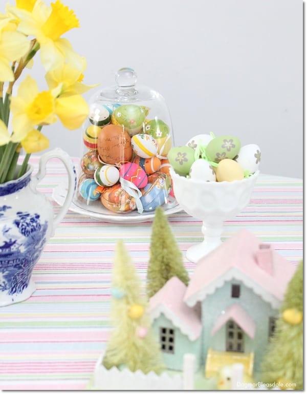 Last-Minute Pastel Easter Decor, DagmarBleasdale.com