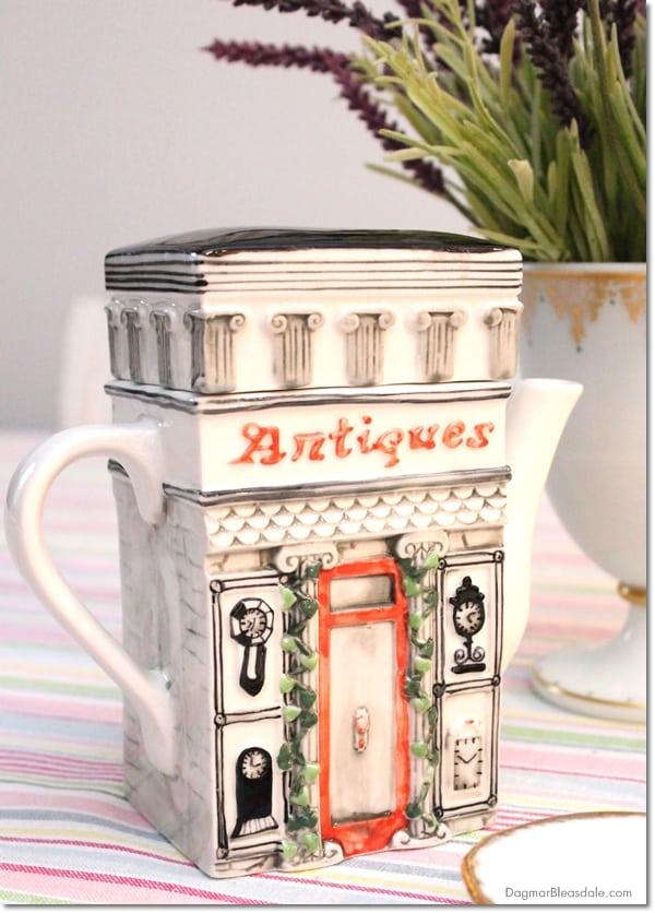 antiques store teapot