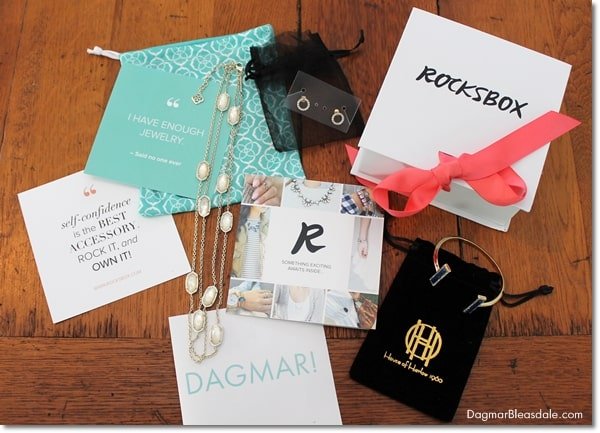 rent jewelry from Rocksbox