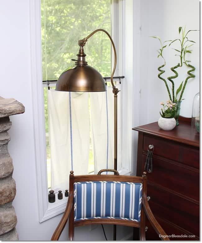 thrifty floor lamp, DagmarBleasdale.com