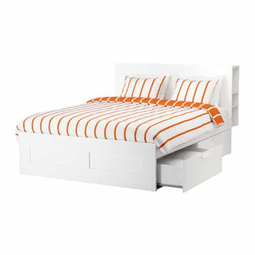 Superb IKEA BRIMNES full bed