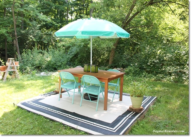 Inspirational The outdoor rug was advertised as a ucpatio mat ud but when it arrived it was called a uccamping mat ud was folded twice and came in a bag with a handle and
