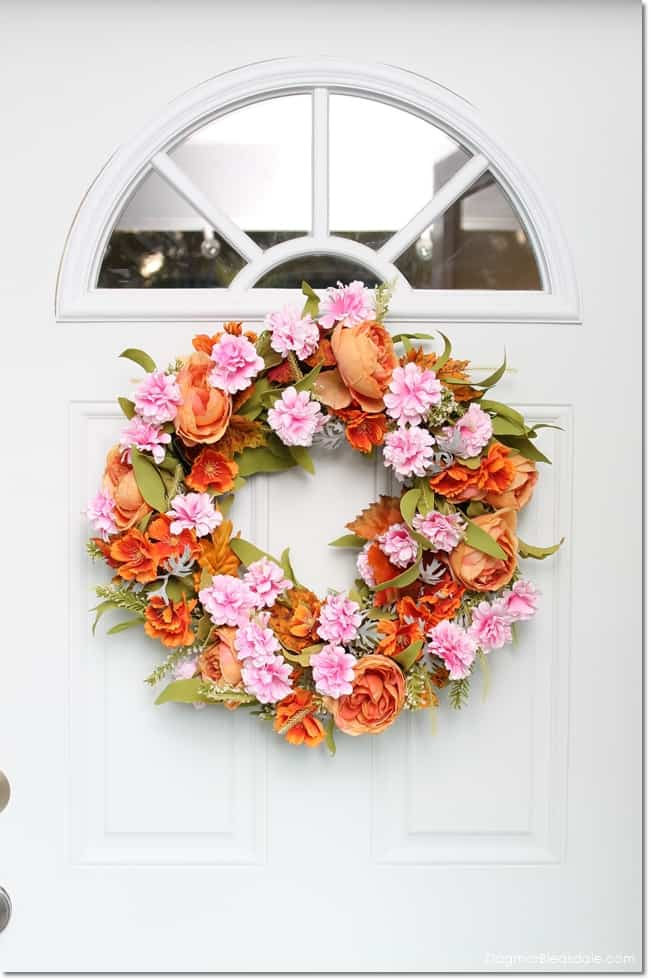DIY fall wreath tutorial, DagmarBleasdale.com