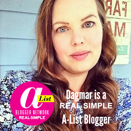 Dagmar Bleasdale Real Simple A-List Blogger, DagmarBleasdale.com