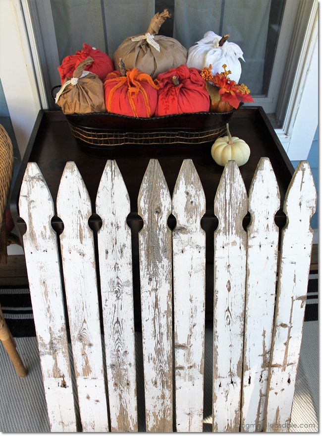 vintage fence pickets, DagmarBleasdale.com