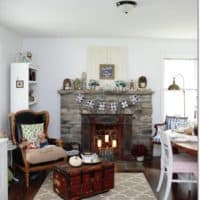 Fall Home Tour Blue Cottage 2016, DagmarBleasdale.com
