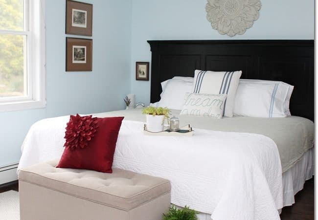 Blue Cottage Bedroom Makeover and $500 Annie Selke Giveaway