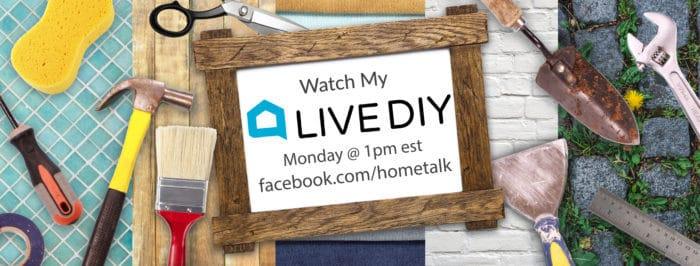 Hometalk LIVE DIY show with Dagmar Bleasdale, DagmarBleasdale.com