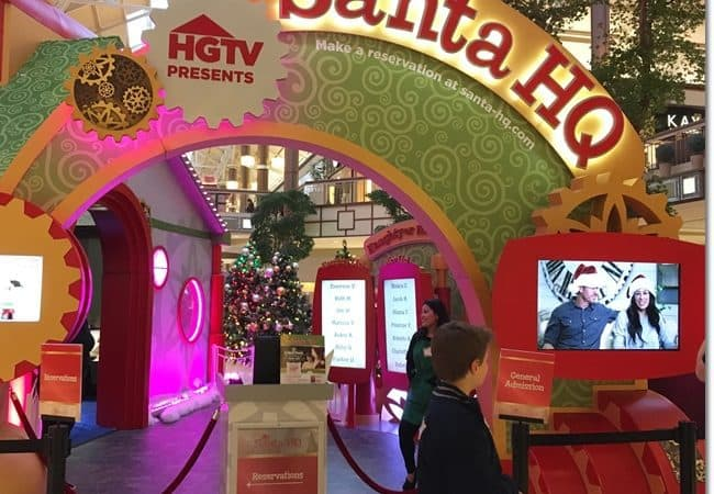 Meet Santa at HGTV's Santa HQ at Danbury Fair Mall, CT