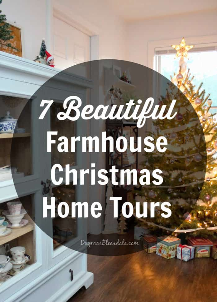 7 beautiful farmhouse christmas home tours to be inspired by for Home video tours