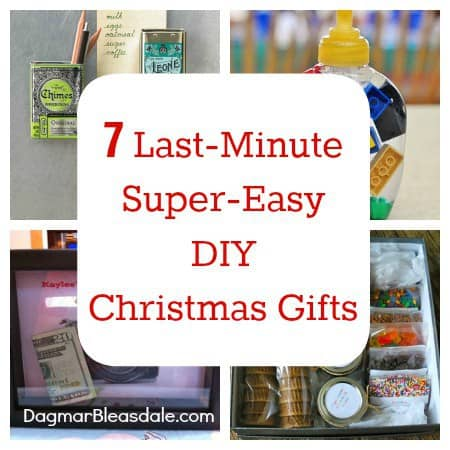 7 DIY gifts that so easy and unique, it's crazy! DagmarBleasdale.com