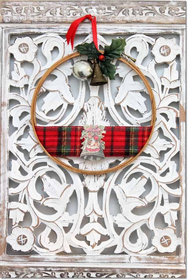 Easy DIY embroidery hoop gift, DagmarBleasdale.com