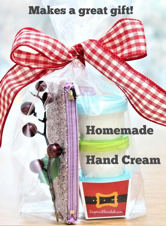 homemade hand cream recipe, DaagmarBleasdale.com