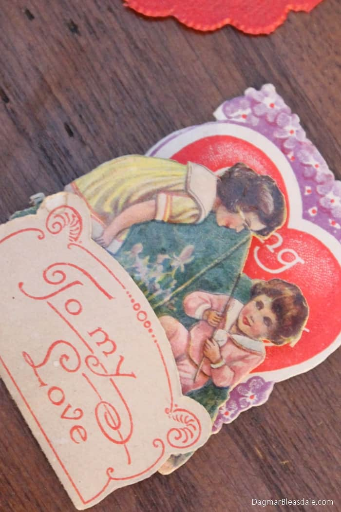 vintage Valentine, DagmarBleasdale.com