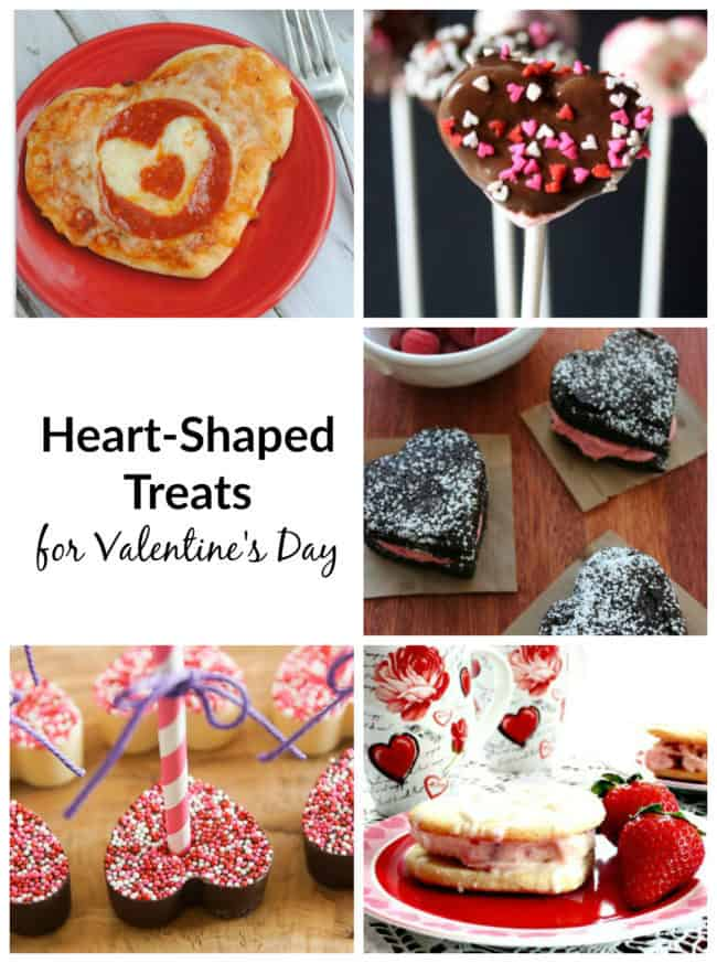 Heart-Shaped Treats for Valentine's Day, DagmarBleasdale.com