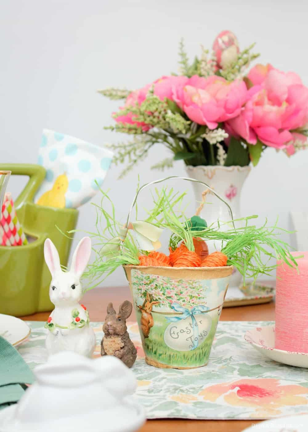 Thrifty Easter decor, DagmarBleasdale.com