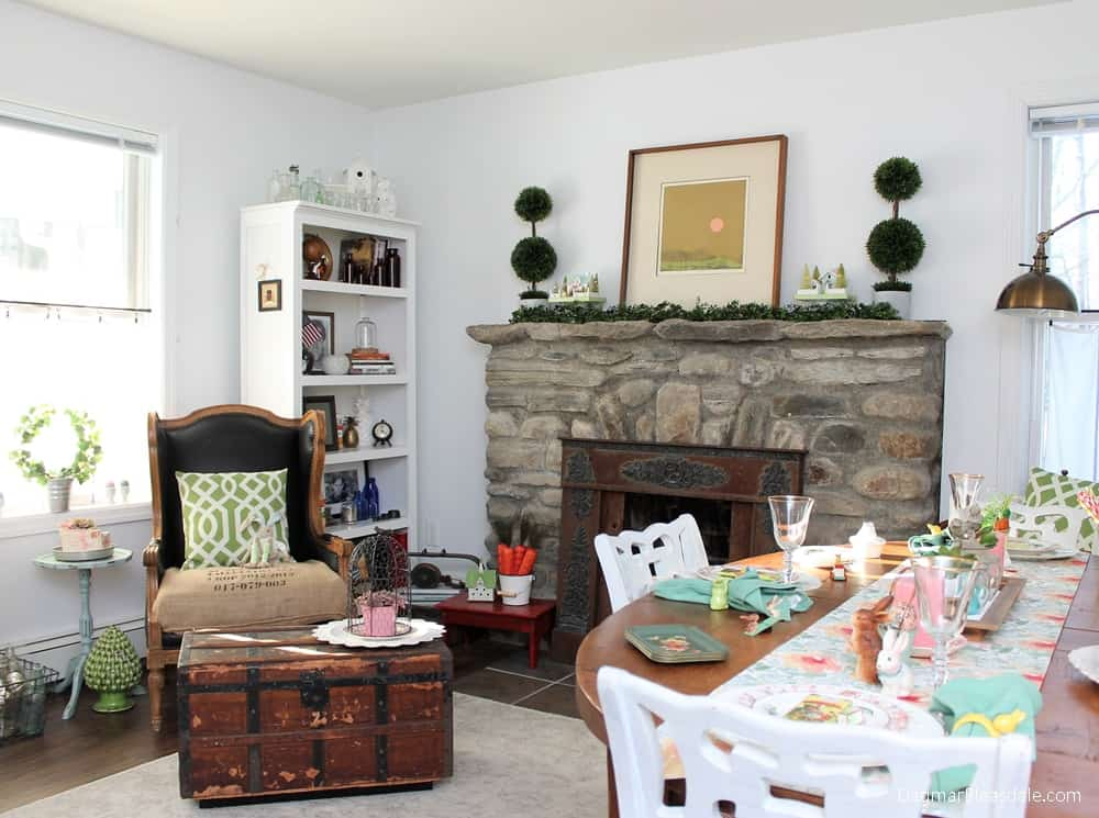Thrifty Easter Decor And Tablescape Ideas For The Blue Cottage