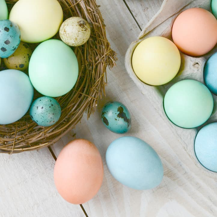 Avoid Food Dyes and Color Easter Eggs Naturally, DagmarBleasdale.com