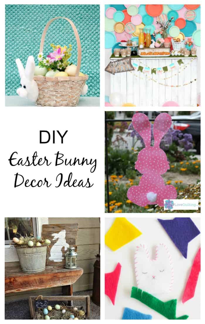 Easter Bunny Decor Ideas