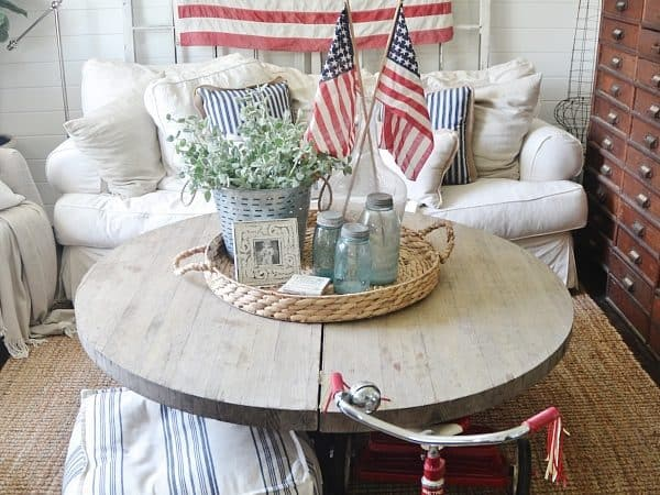 4th of July Decorations – DIY Flag Ideas and More