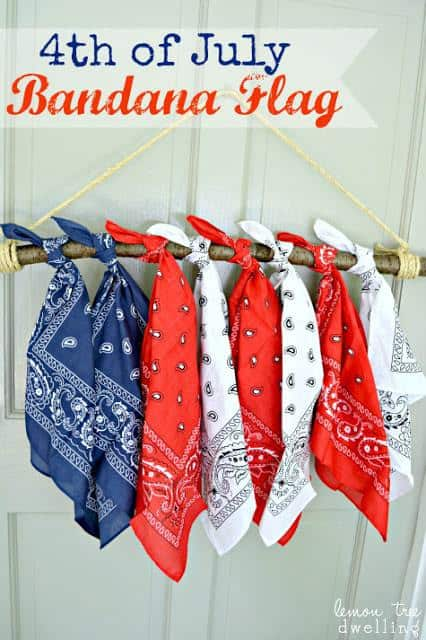 4th of july decorations banner