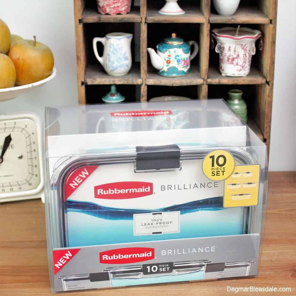 Organize Your Fridge With Rubbermaid BRILLIANCE, DagmarBleasdale.com
