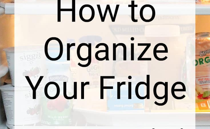 Organize Your Fridge and Rubbermaid BRILLIANCE Giveaway