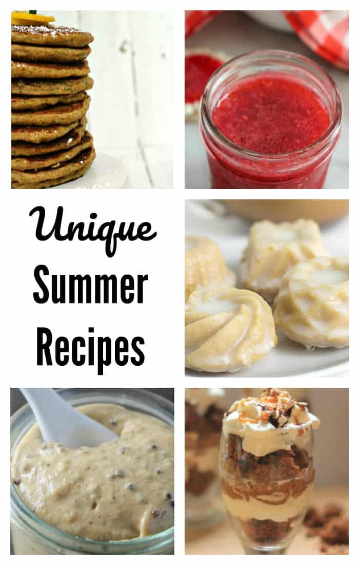Unique Summer Recipes, DagmarBleasdale.com