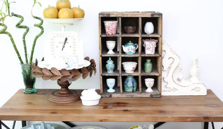 Dagmar's Link Party – Rustic Metal Cake Stand