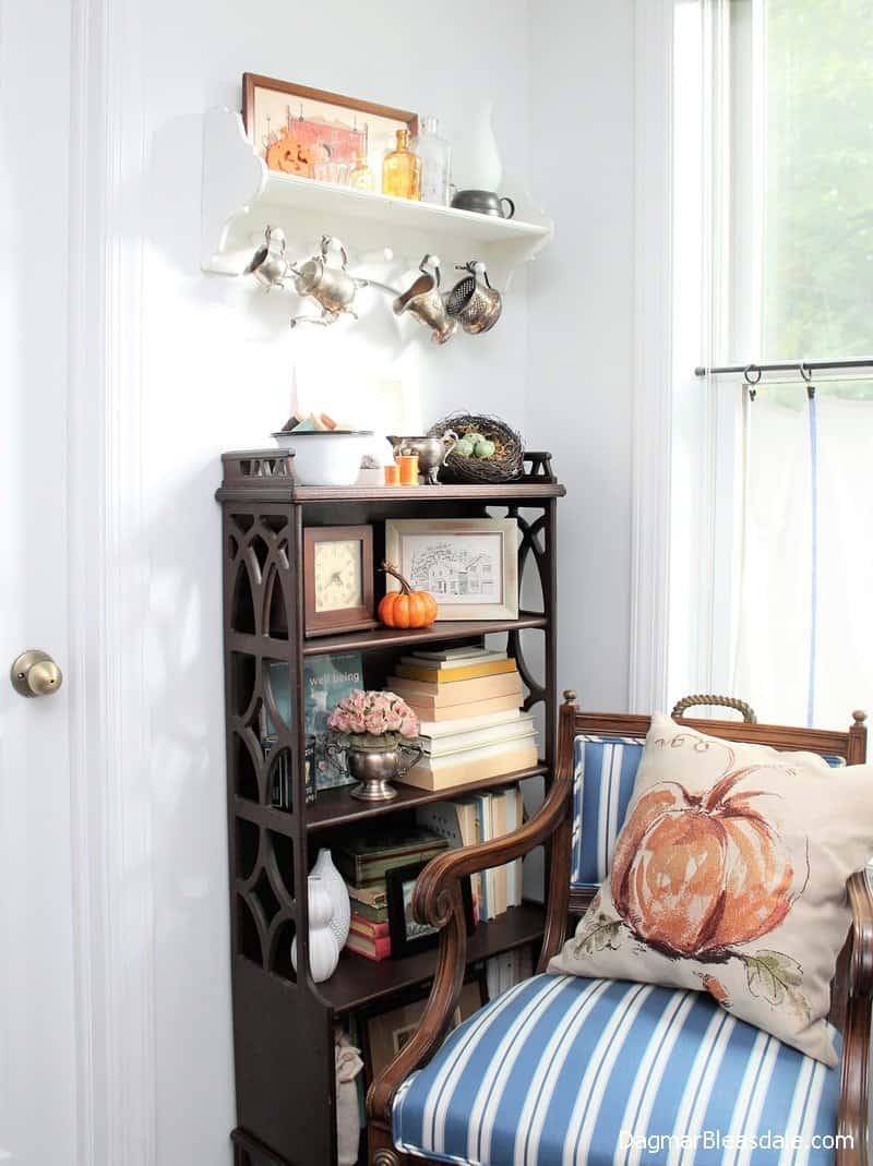 Fall pillows, cute pumpkin pillow, where to find them! DagmarBleasdale.com
