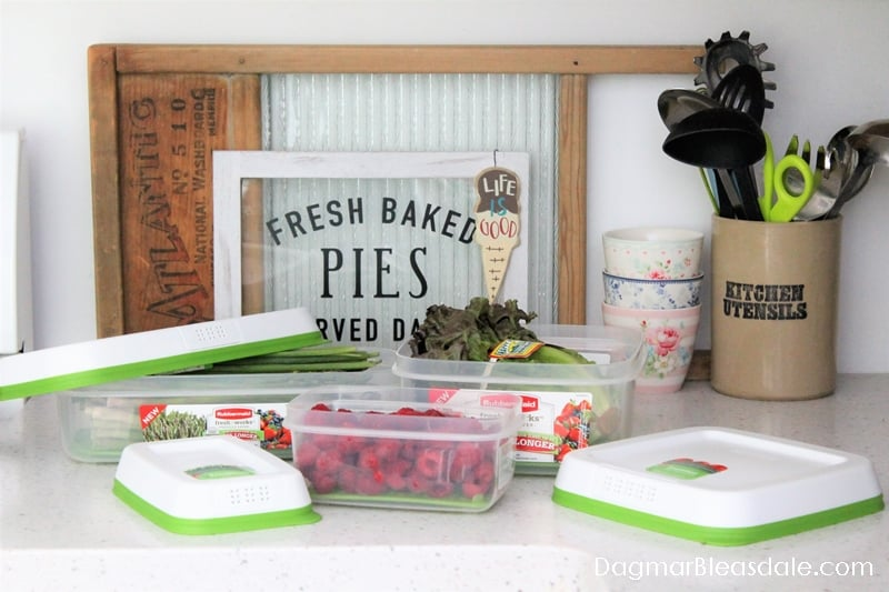RubberMaid FreshWorks Containers Giveaway