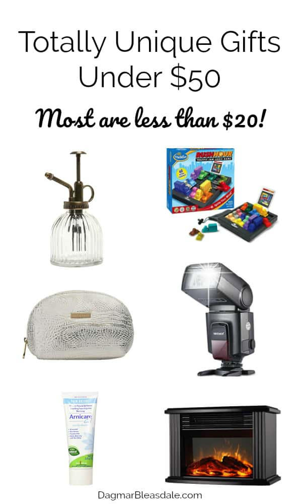 Gifts under $50, the best and unique, DagmarBleasdale.com