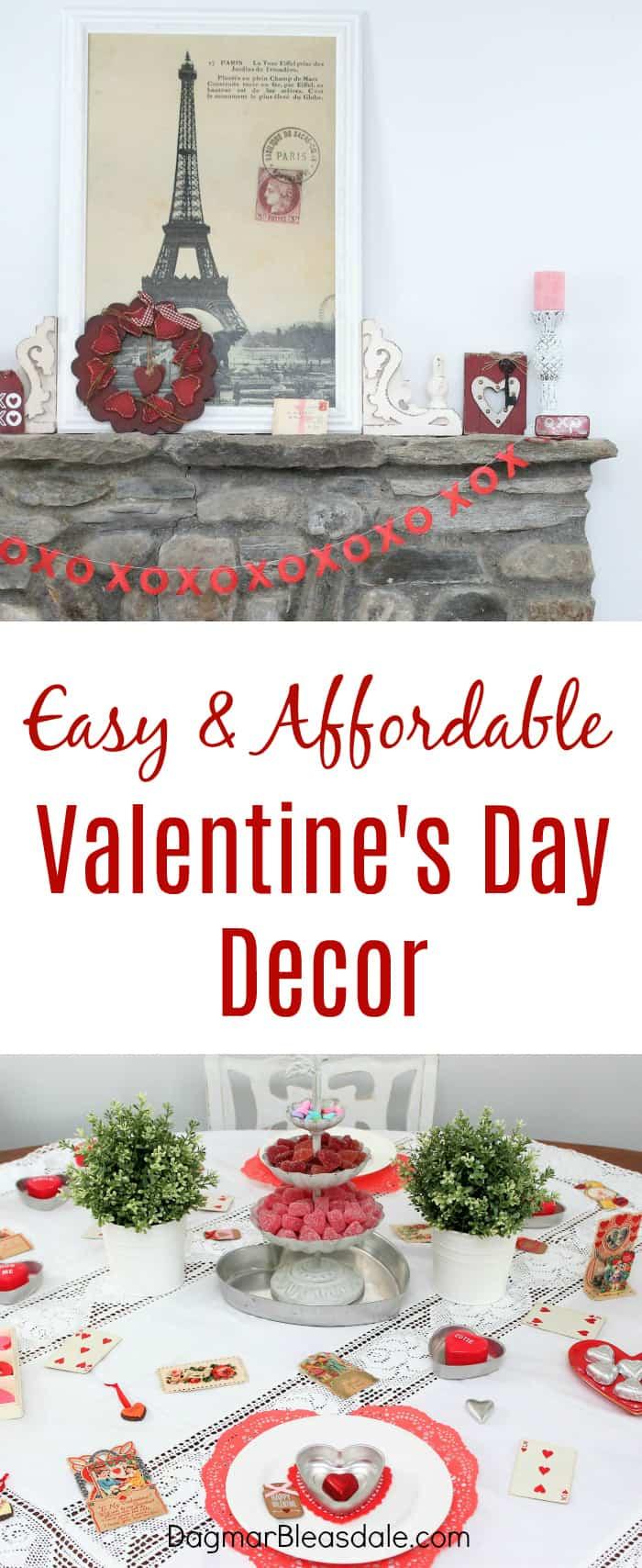 Simple Valentine's Day Decor Ideas