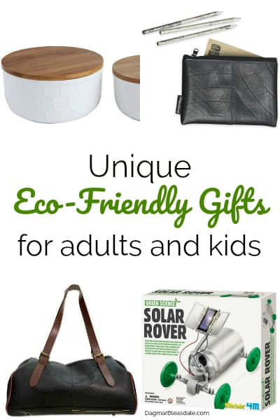 The Best Eco-Friendly Gifts for Kids and Adults, DagmarBleasdale.com