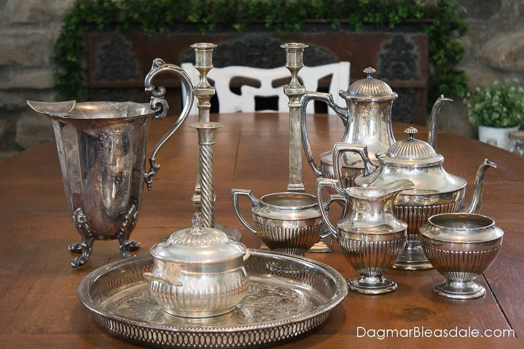 Vintage silver collection