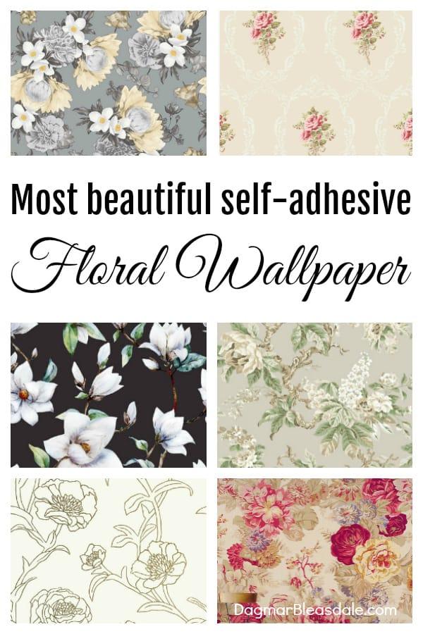 floral wallpaper DagmarBleasdale.com